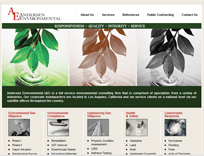 Environmental Website Design
