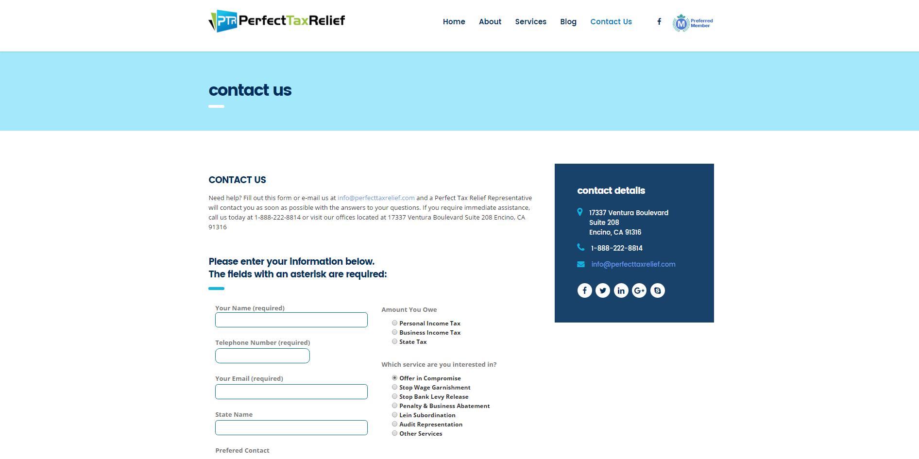 perfecttaxrelief.com